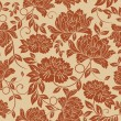 Seamless floral background — Vettoriali Stock