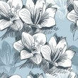 Seamless floral background — Vecteur #2572446