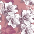 Vecteur: Seamless floral background
