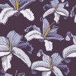 Seamless floral background — Vetorial Stock #2572560