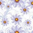 Seamless floral background - 