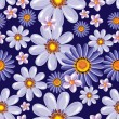 Seamless floral background - Vettoriali Stock 