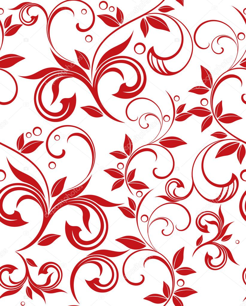 Floral Background For Twitter