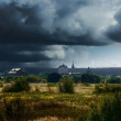 Storm. Northern landscape. — Stock Photo