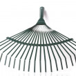 Rake isolated — Stock Photo