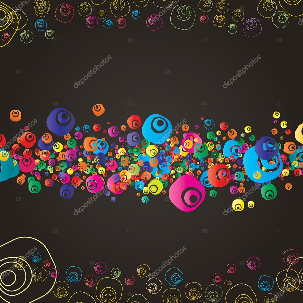 Abstract colorful (grunge banner) background for your business — Stock Vector #1140702