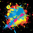 Wektor stockowy : Abstract colorful background