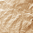 Rumpled wood paper — Stock Photo