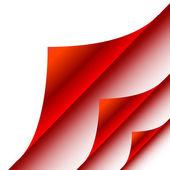 紙のコーナー — ストックベクタ