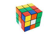 Coloured cube — Stock Photo