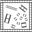 Stock Vector: Film