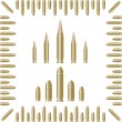 Stock Vector: Bullets