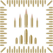 Bullets — Stock Vector