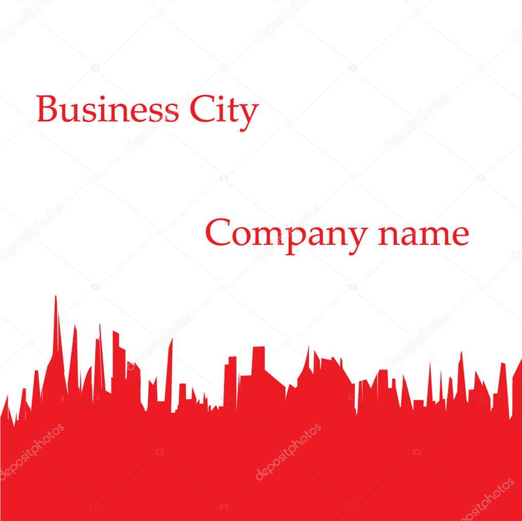 City — Stock Vector #1091976