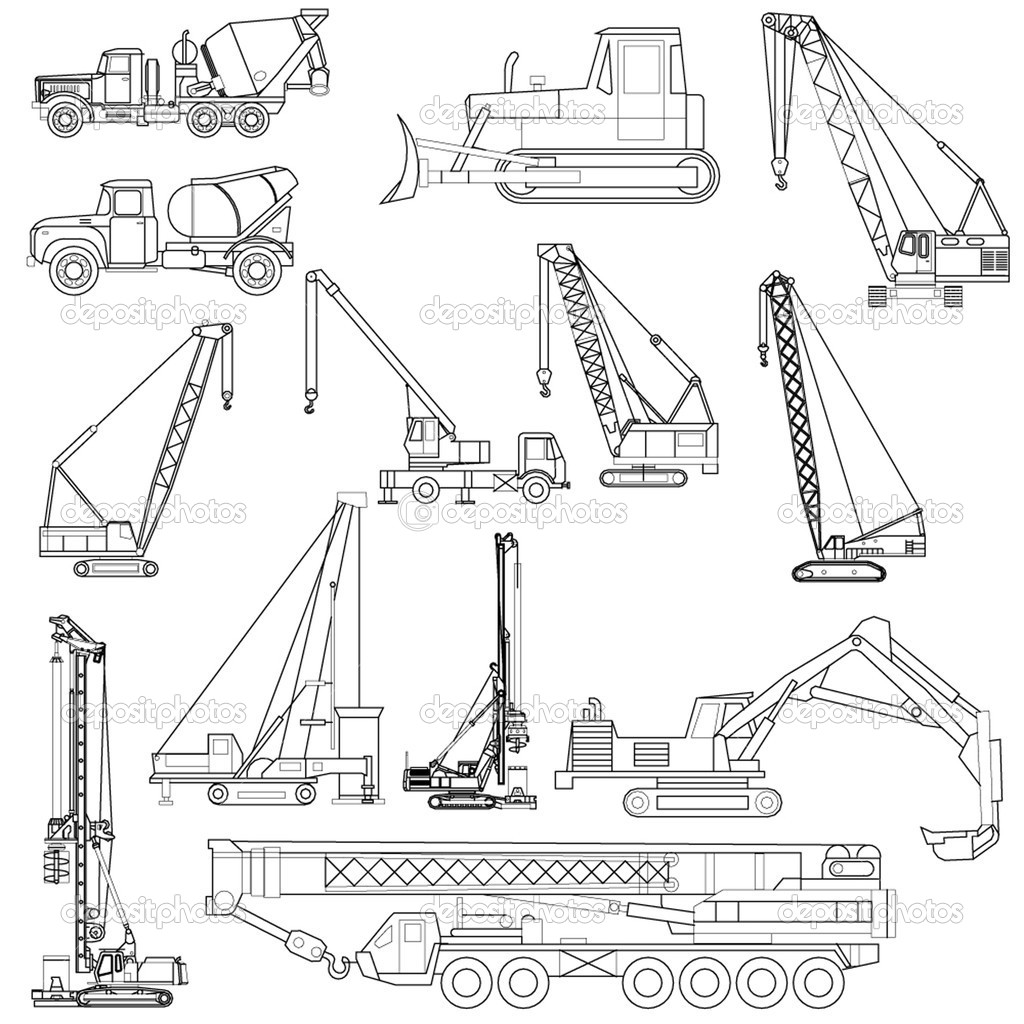 Construction objects  — Stock Vector #1092056