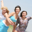 Foto Stock: Female friends