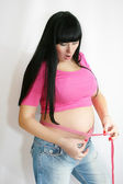 Pregnant woman — Stock Photo