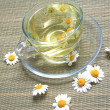 Cup of herbal tea - Stock Photo