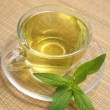 Stock Photo: Cup of herbal tea