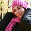 An attractive young lady out park — Stock Photo #1172007