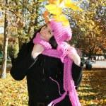 Привлекательный молодой леди парк — Стоковое фото #1172576