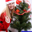 Christmas woman — Stock Photo #1248516