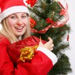 Christmas woman — Foto de stock #1272120