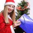 Stockfoto: Christmas woman