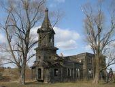 Dilapidated Orthodox Church — Stock Photo