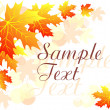 Royalty-Free Stock Vector Image: Autumn floral background