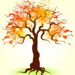 autumn tree — Stock Vector #1086853