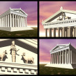 Temple of Artemis at Ephesus — Foto Stock