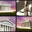 Temple of Artemis at Ephesus - Stock Photo