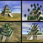 Hanging Gardens of Babylon — Stock Photo #1185562