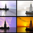 Lighthouse of Alexandria - Stock Photo