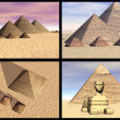Great Pyramid of Giza — Stockfoto #1185597