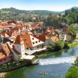 Old town Cesky Krumlov - Stock Photo