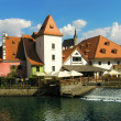 Old town Cesky Krumlov — Stock Photo