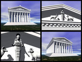 Templo de ártemis em éfeso — Foto Stock