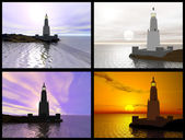 Lighthouse of Alexandria — Stock Photo
