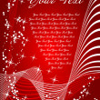 Royalty-Free Stock Vektorfiler: Red abstract christmas background