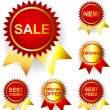 Royalty-Free Stock Vector Image: Promo stickers. Vector