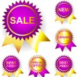 Royalty-Free Stock Vector Image: Promo stickers