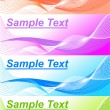 Royalty-Free Stock : Set of 4 banner backgrounds