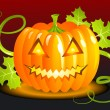 Halloween Pumpkin — Stockvectorbeeld