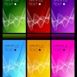 Set of beautiful backgrounds — Stock Vector #1185242