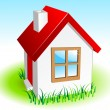 Small house — Stock Vector
