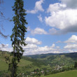 Carpathian landscape — Stock Photo