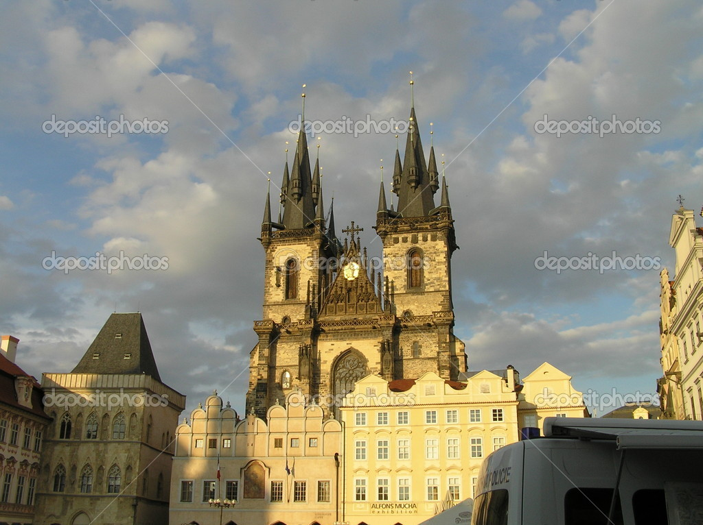 Cityscape of Prague. Czech — Stock Photo #1321111