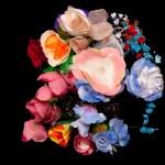 Artificial handmade roses — Stock Photo #2116160